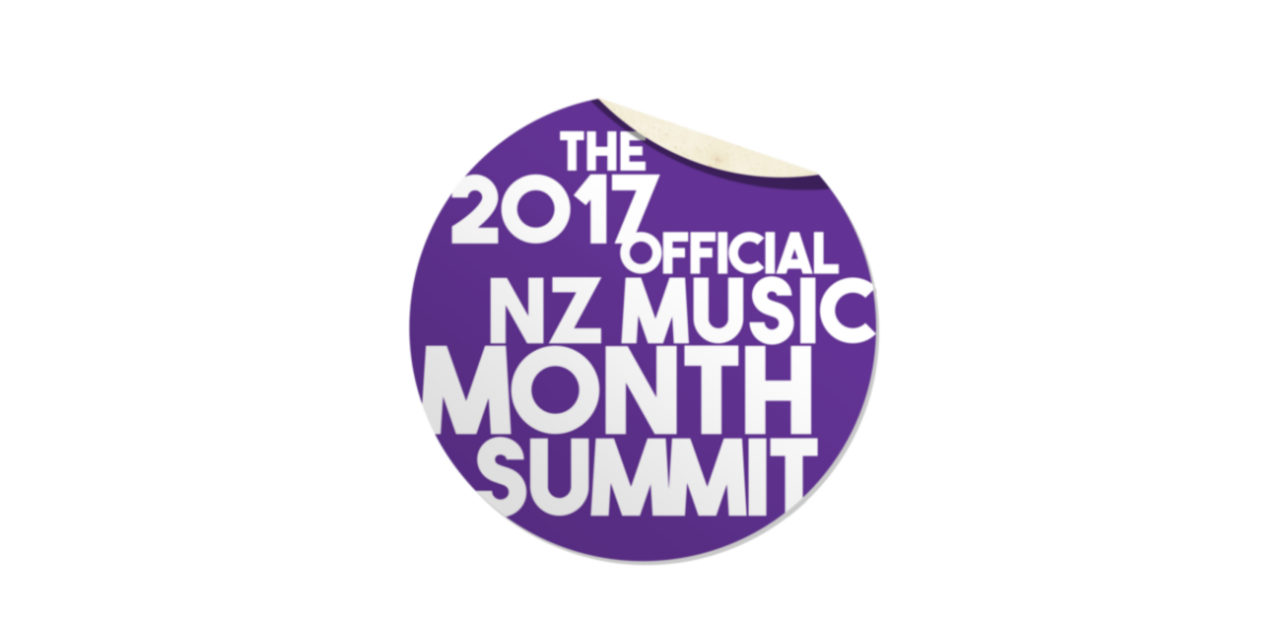 The 2017 Official NZ Music Month Summit