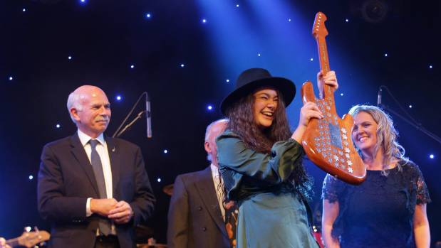 Hometown girl takes top Gold Guitars spot