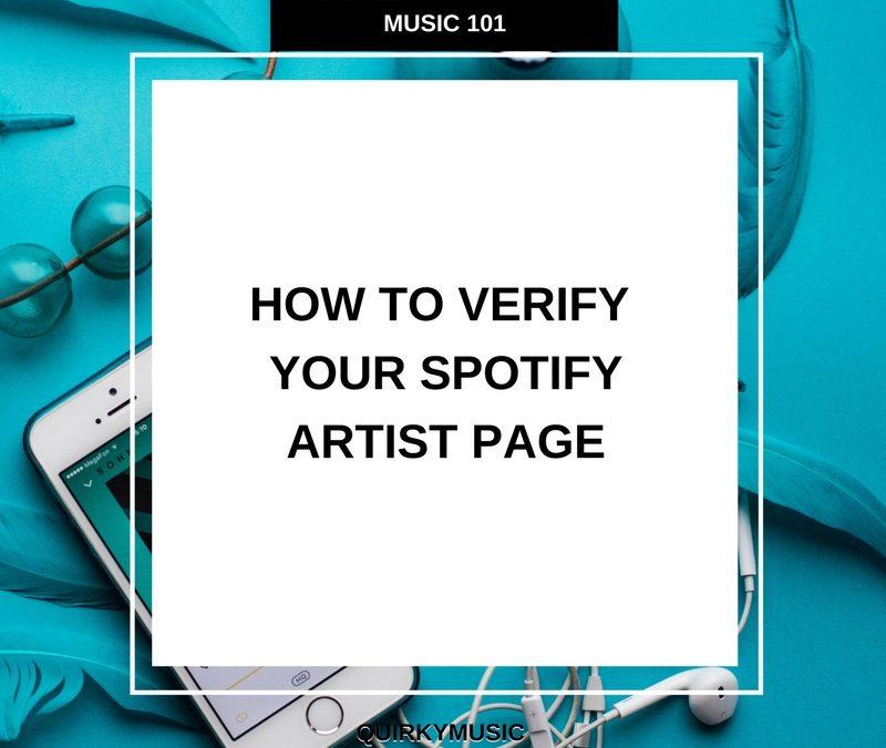 Artist Verification on Spotify